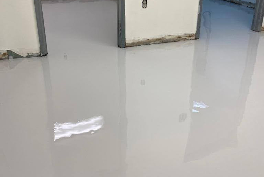 Epoxy Floor White